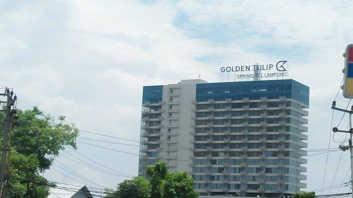 Lokasi Hotel Golden Tulip, Strategis di Jantung Kota Bandar Lampung