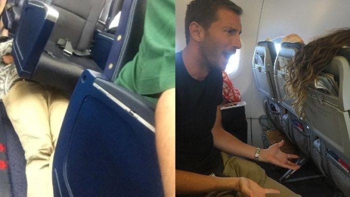 Potret Tingkah Lucu dan Menyebalkan Penumpang di Dalam Pesawat
