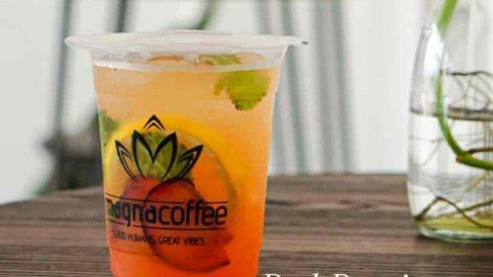 Menu Rose Blossom di Magna Coffee Cocok untuk Tak Hobi Ngopi