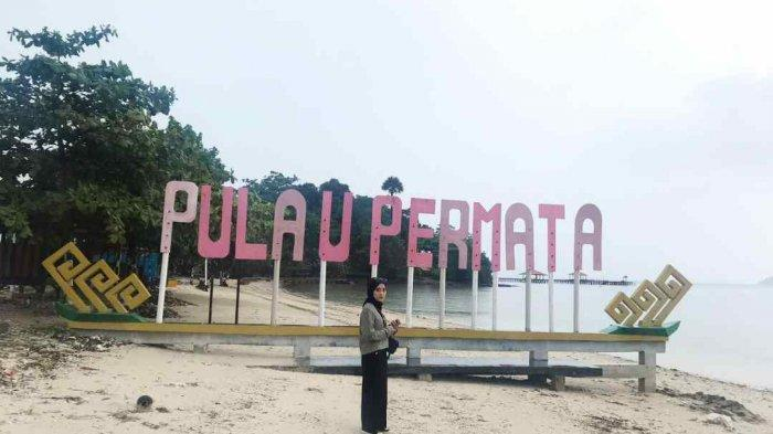 Wisata Pulau Permata Pantai Cantik dengan Pemandangan Kota Bandar Lampung