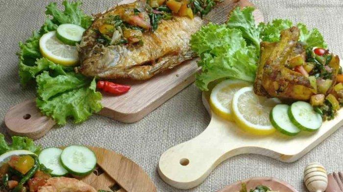 Daftar Menu Sambal Pecak Bang Ucok Kuliner Khas Medan