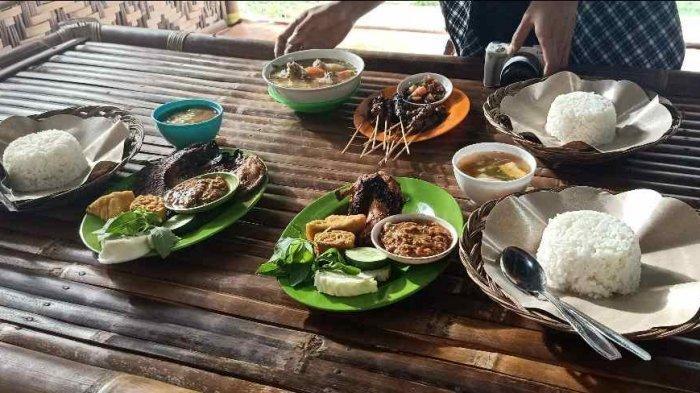 Sate Maranggi Bisa Dinikmati di Saung Agrowisata Bandar Lampung