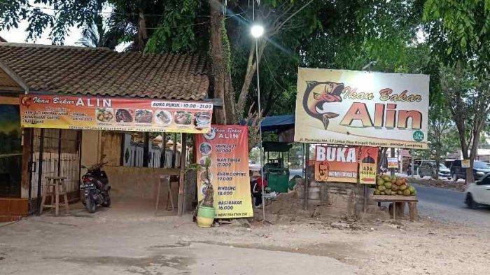 Daftar Menu Restoran Ikan Bakar Alin di Ryacudu