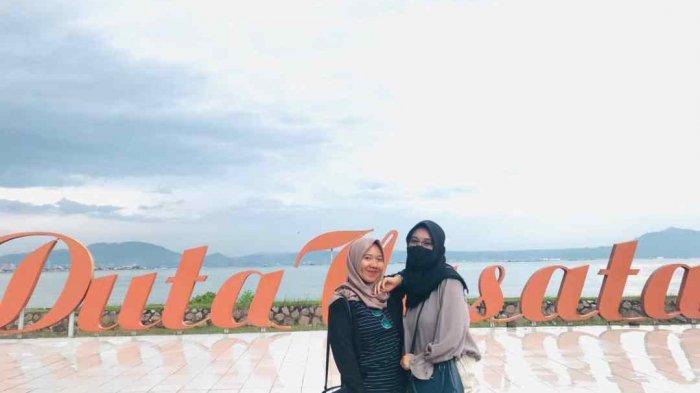 Pantai Duta Wisata, Hadirkan Pemandangan Perkotaan Bandar Lampung