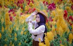 Taman Bunga Celosia Umbul Helau Kemiling, Bisa Belajar Berkebun