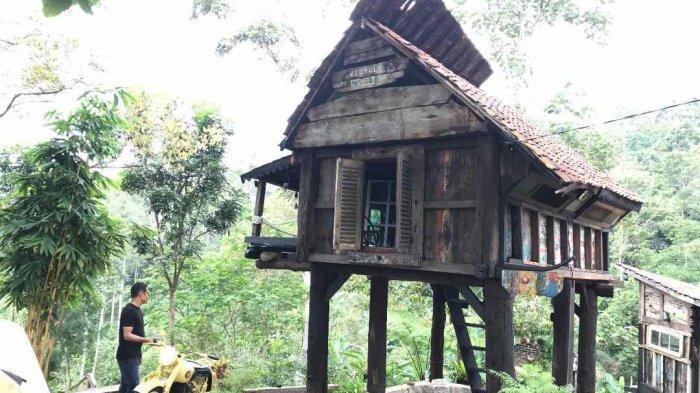 Rumah Unik dari Barang Bekas Aman Jernih Kabin Kampanyekan Reusable