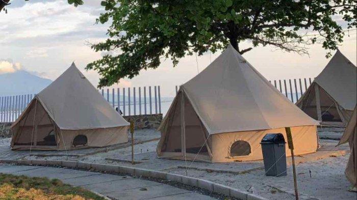 Camping Mewah di M Beach Glamping Kalianda Lampung