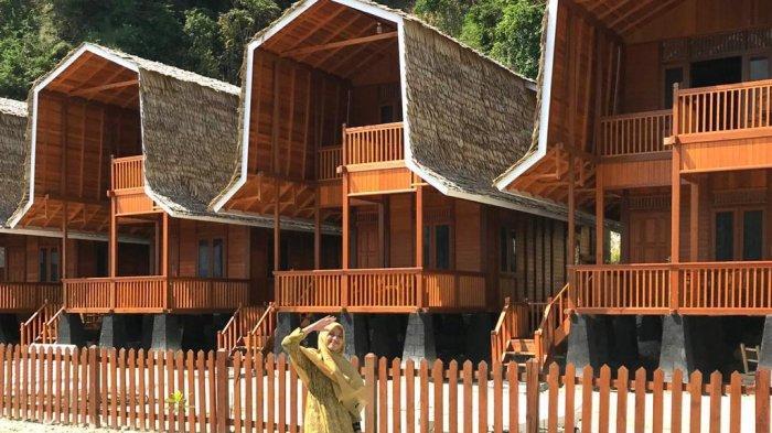Sensasi Menginap di Cottage Terapung Wisata Pulau Tegal Mas Lampung