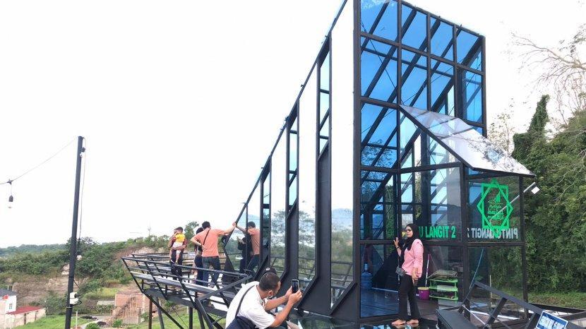 Lokasi Wisata Pintu Langit 2, Dekat Pusat Kota Bandar Lampung