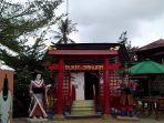 Pakai Kimono di Bukit Sakura Bisa Lihat Kota Bandar Lampung