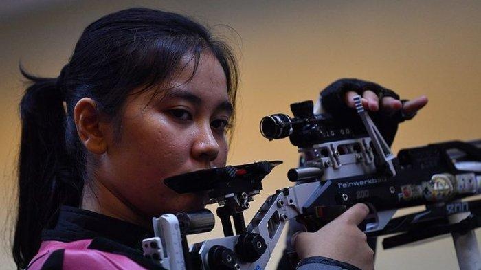 Biodata Vidya Rafika Atlet Menembak Indonesia