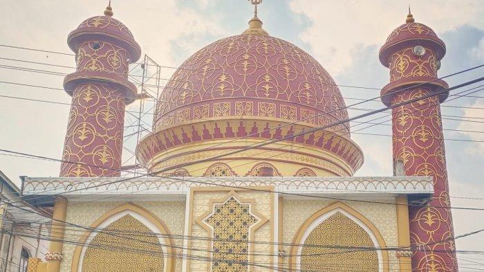 Kubah Ala Timur Tengah di Masjid Jami Asy Syuhada Habiskan Dana Lebih dari Rp 60 Juta