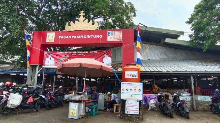 Pasar Pasir Gintung, Pasar Tradisional di Bandar Lampung yang Mayoritas Berisi Agen Pedagang