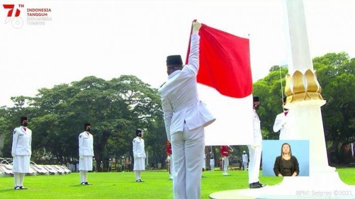 Profil Ridho Hadfizar Armadhani Pelajar Asal Lampung Bertugas Sebagai Pengerek Bendera