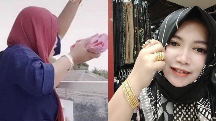 Ayang Yasmin, Pengusaha Asal Malang yang Bagikan Uang 100 Juta dari Balkon Rumah