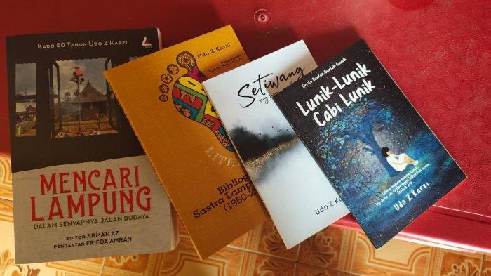 Udo Z Karzi Suka Membaca dan Menulis Sejak di Sekolah Dasar