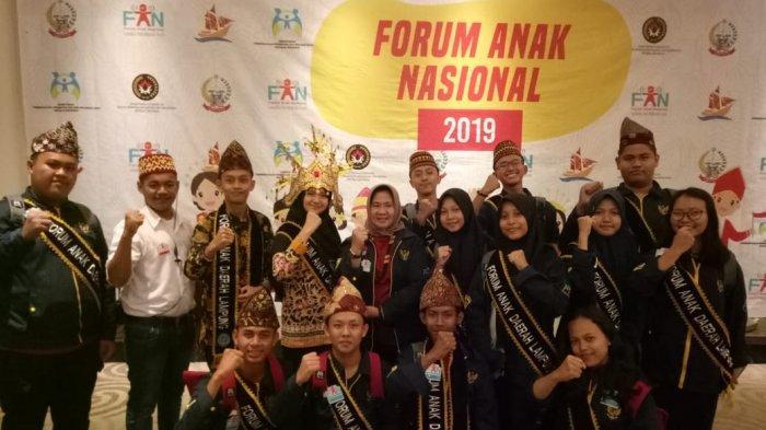 Sistem Pencatatan Baik, Forum Anak Kota Bandar Lampung Sabet Dafa Award 2019