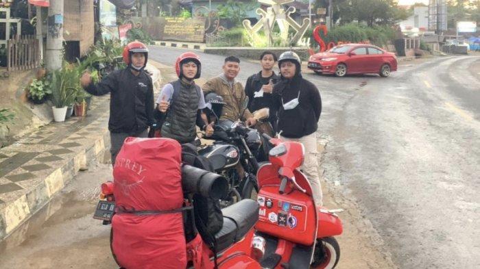 Gabung di Komunitas Vespa Lampung Scoots, Anggota: Nggak Pandang Latar Belakang