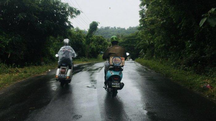 Baksos Ala Komunitas Vespa Lampung Scoots