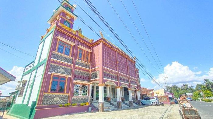 Dihiasi Ornamen Cantik Khas Lampung, Pembangunan Masjid Jami Al-Ishlah Telan Biaya Rp 2,5 Miliar