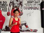 Jelang PON XX Papua, Nabila Maharani Latihan Selama 2 Jam Lebih