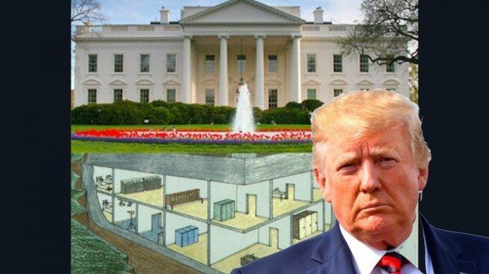 Jadi Tempat Presiden Donald Trump dan Keluarganya Mengungsi, Ini Fakta Unik Bunker Gedung Putih AS
