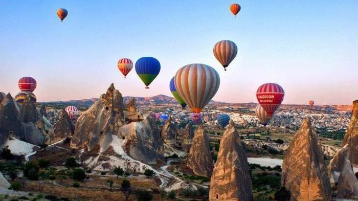 Ada Permukiman Bawah Tanah di Cappadocia Turki, Simak Fakta Uniknya