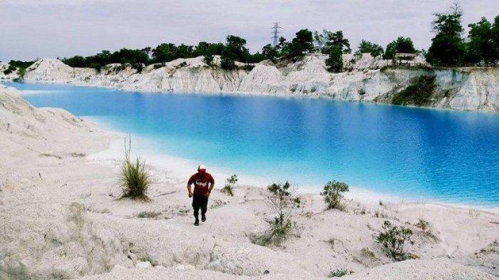 Ini Fakta Unik Danau Kaolin, Tempat Wisata Instagramable di Belitung