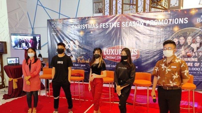 Malam Natal di Four Points by Sheraton Manado, Ada Kreasi Bikin Tik Tok untuk Dilombakan