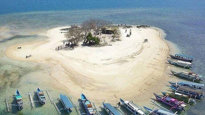 Menilik Eksotisme Gili Kedis, Gili Mungil di Lombok Barat, Miliki Biota Laut Beragam