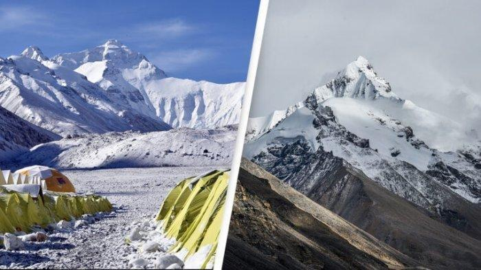 Puncak Gunung Everest Naik 1 Meter, Kok Bisa?