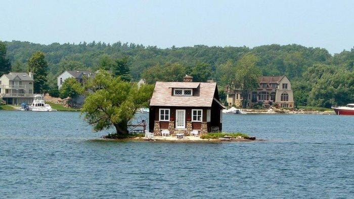 Mengenal Just Room Enough Island, Pulau Berpenghuni Paling Kecil di Amerika Serikat