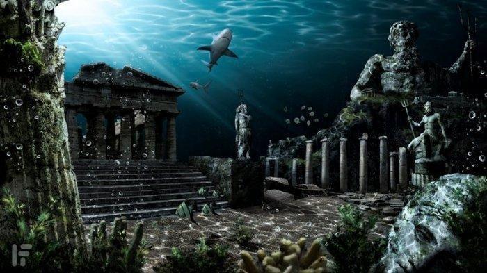 6 Kota Ini Berada di Dasar Laut