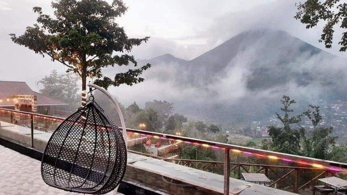 Berlatar Belakang Gunung Lokon, Lokon View Menjadi Tempat Melepas Penat dengan Pemandangan Indah