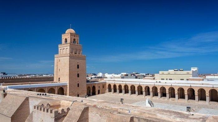 Fakta Menarik Tentang Masjid Agung Kairouan, Masjid Tertua di Tunisia yang Berdiri Sejak Abad ke-7