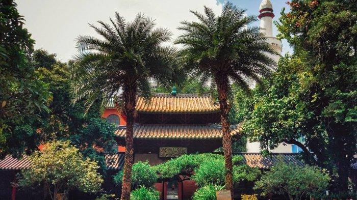 Ini Sejarah Masjid Huaisheng di China, Masjid dengan Gaya Arsitektur Tradisional China Berpadu Arab