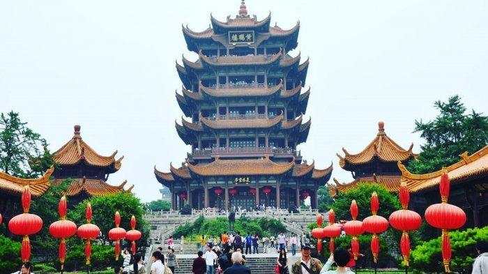 Menilik Menara Bangau Kuning Ikon Kota Wuhan, Destinasi Bersejarah yang Dibuka Lagi