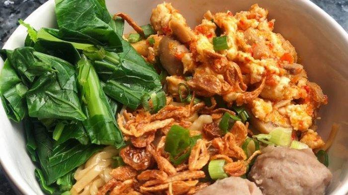 Mie Ayam Jamur Rica-rica, Rasa Pedasnya Nendang