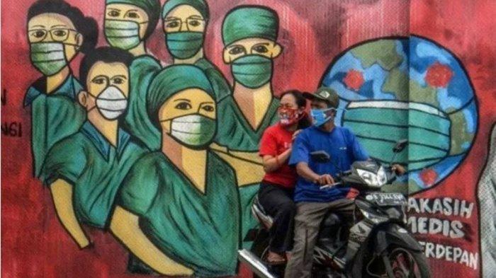 PECAH REKOR: Indonesia Catat Tambahan Kasus Baru Covid-19 9.321 Kasus