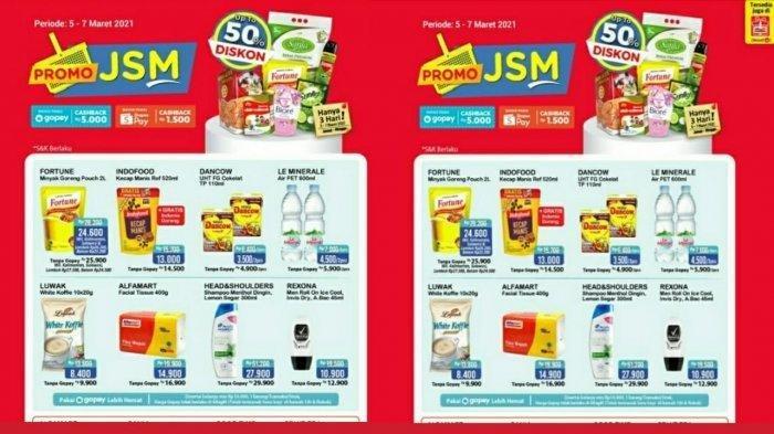 Promo JSM Alfamart yang Bisa Bikin Hemat, Berlaku 5-7 Maret 2021