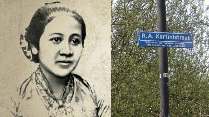 Tak Hanya di Indonesia, RA Kartini Terkenal di Belanda, Namanya Dijadikan Nama Jalan