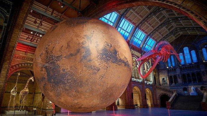 Intip Replika Planet Mars di Museum di London, Tribut untuk Perjalanan NASA