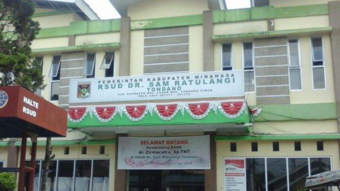 24 Tenaga Kesehatan RSUD Sam Ratulangi Tondano Positif Covid-19, Rumah Sakit Ditutup Sementara