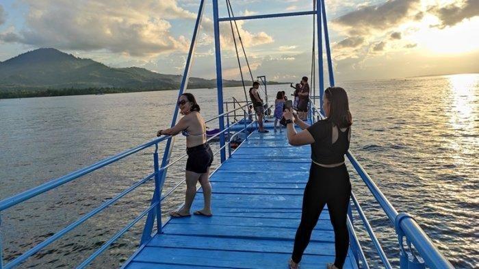 Butuh Tempat Liburan Baru di Sulut? Coba Suasana Tj Beach Resort dan Water Sport