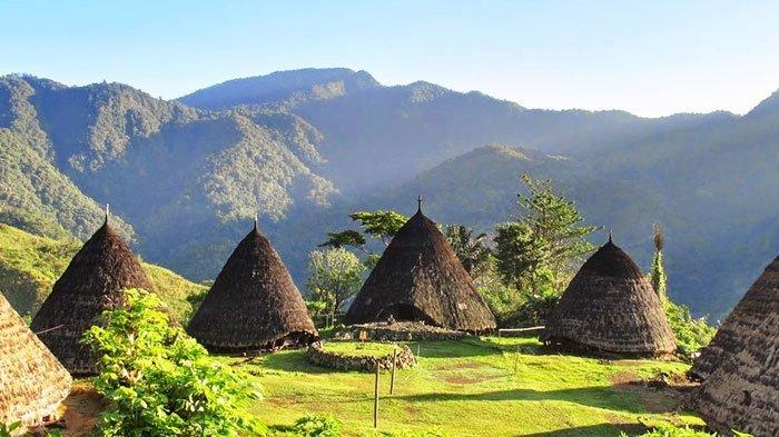 Ini Fakta Unik Desa Wae Rebo di Flores, Punya Rumah Adat yang Langka hingga Berkabut Setiap Pagi