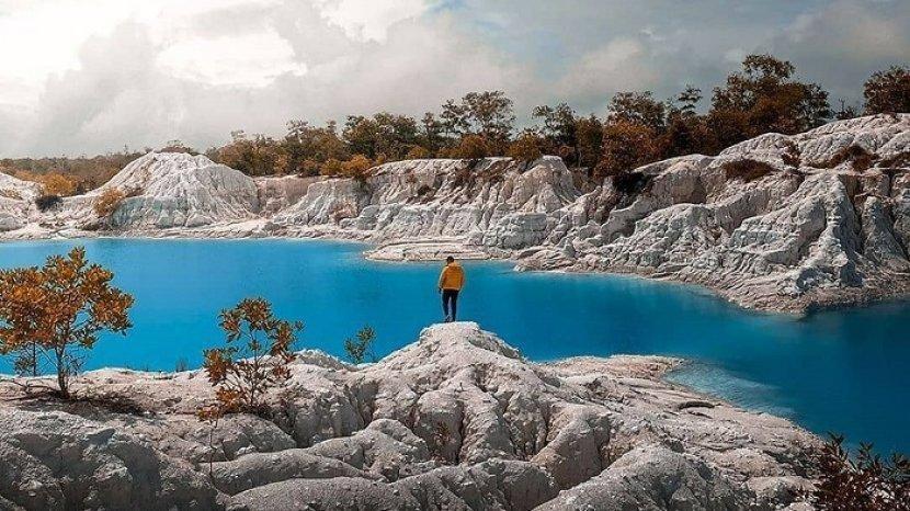 5 Danau Berwarna Biru di Indonesia, Termasuk Danau Kaolin