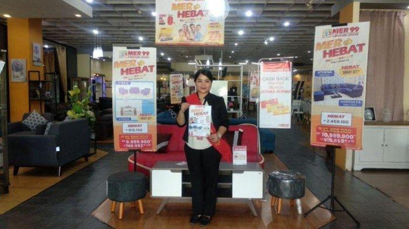 MER 99 Furniture Adakan Promo 'MER Hebat - Hemat Banget', Dapatkan Cashback Hingga Rp 750 Ribu