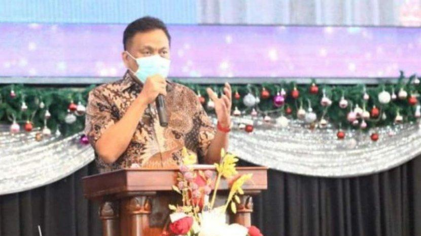 Kembali Jabat Gubernur Sulut, Olly Awali dengan Ibadah Bersama Jemaat Gereja Bethani Manado