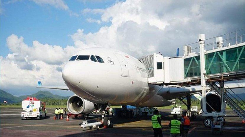 Airbus A330 Resmi Beroperasi di Bandara Sam Ratulangi, Layani Rute ke Jakarta