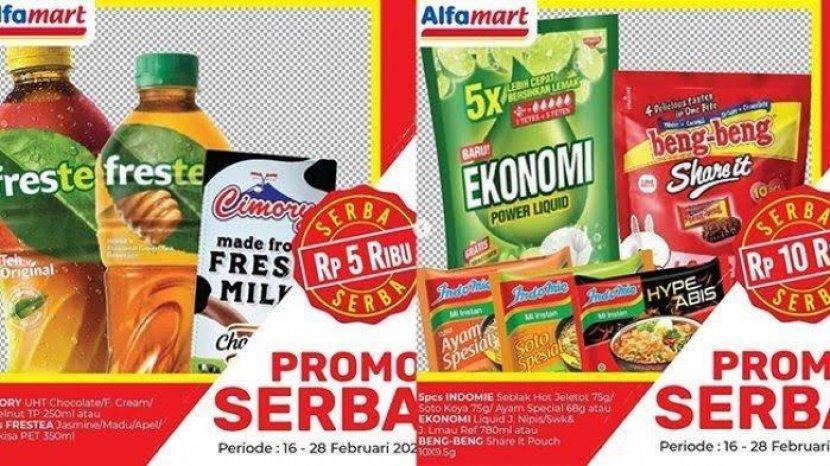 PROMO Alfamart 19 Februari-21 Februari 2021, Bayar Pakai Gopay dan ShopeePay Lebih Murah